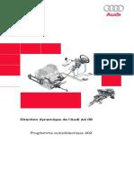 SSP 402 Direction dynamique de l´Audi A4 08