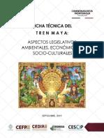 Ficha Técnica Tren Maya