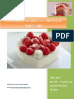 UFCD 8296 Cozinha Pastelaria – Serviços Especiais Índice