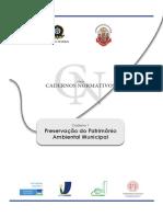Caderno1_Preservação Do Patrimônio Ambiental Municipal