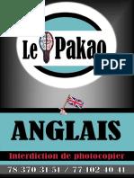 LE PAKAO ANGLAIS Réseau Scolaire
