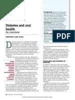 2003 - Diabetes and oral health