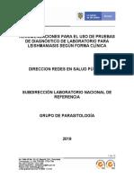 Recomendaciones_Uso_Pruebas_Dx_Leishmaniasis
