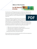 20 Common HR Metrics