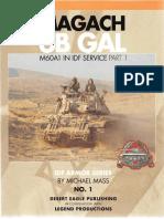 [Armor] Desert Eagle - Magach 6B Gal - M60A1 in IDF Service Part 1-2