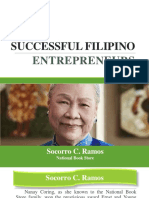 SUCCESSFUL FILIPINO ENTREPRENEURS