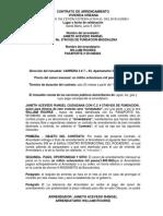 Contrato de arrendamiento Yaneth Acevedo y Jesus Davila