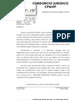 CONTESTACION DE DEMANDA