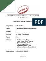 CLASIFICACION DE LOS ACTOS JURIDICOS Y DIAPOSITIVAS.docx