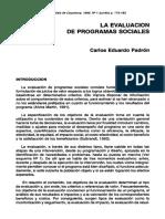 Evaluacion de programas SM.pdf