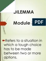 3. Moral Dilemmas