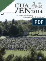 Cuadernillo Cancionero Pascua Joven 2014