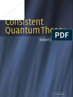 Consistent Quantum Theory,  Robert B Griffiths 2002