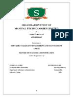 org study report Ashwin.docx