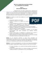 proyecto de reforma del reglamento del sistema de control interno 1.11