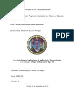 ARTICULO CORRIENTES CONSTRUCTIVISTAS