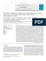 Late Paleozoic subduction and exhumation of Cambro Ordovician passive margin.pdf