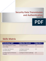 Chapter 9 - Securing Data Transmission and Authentication
