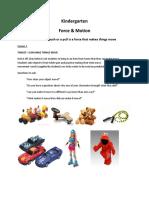 Kindergarten-Force-Motion-Lessons