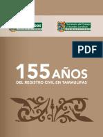 155 años del Registro Civil en Tamaulipas
