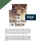 ANIMAIS DE PODER NO XAMANISMO