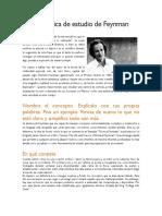 Técnia de Feynman