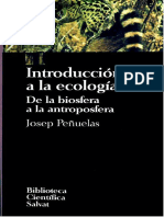 013. Introducción a la ecología - Josep Peñuelas