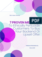 7 Proven Methods to Get Your Customers to Buy Your Back End or Upsell Product