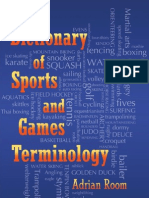 Dictionary of Games&Sports Terms
