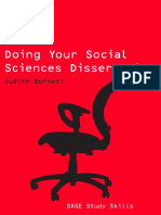 Doing Your Social Science Dissertation [Dr.Soc]