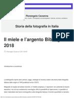 Storia della fotografia in Italia – Pierangelo Cavanna