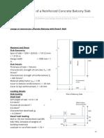 civstructguru.blogspot.com-Structural Design of a Reinforced Concrete Balcony Slab to BS 8110