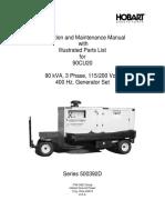 OM-2130B USER & SERVICE MANUAL