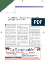 SANACIÓN. REIKI y RECONEXIÓN