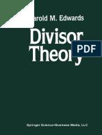 Harold M. Edwards (auth.) - Divisor Theory-Birkhäuser Boston (1990).pdf