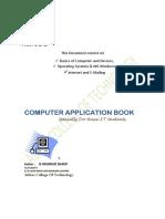 Computer Applications by (Engr. M SHUMRAIZ SHARIF)