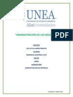 ADMINISTRACIÓN DE LOS NEGOCIOS