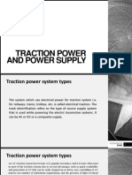 Traction power and power supply