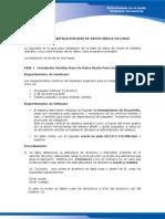 Manual Instalacion Baible Linux Ver 1