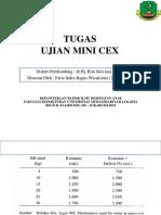 Tugas Ujian Mini Cex dr. Hj. Rini Sp.A