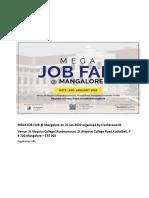 MEGA JOB FAIR @ Mangalore on 25 Jan 2020 organized by Freshersworld.pdf