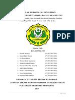 Validitas & Reliabilitas Penelitian Kualitatif_Kel.4_3D