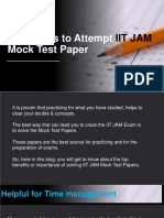 5 Reasons to Attempt IIT JAM Mock Test Papers- Boost Your Practice