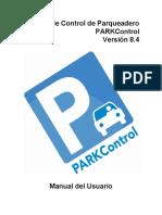 Manual PARKControl