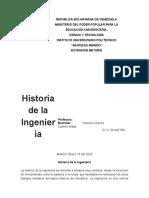 Ensayo Historia de la Ingenieria