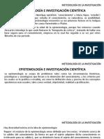Metodología Clase 3  Epistemología e Investigación científica.pptx