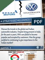 Tata Motors $ Volkswagen
