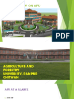 AGRICULTURE AND FORESTRY UNIVERSITY RAMPUR, CHITWAN.pptx