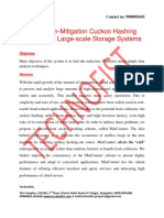 A Collision-Mitigation Cuckoo Hashing Scheme for Large-scale Storage Systems