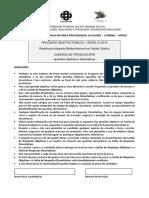 Prova - Residência Biomedicina - UFRGS - 2015.pdf
